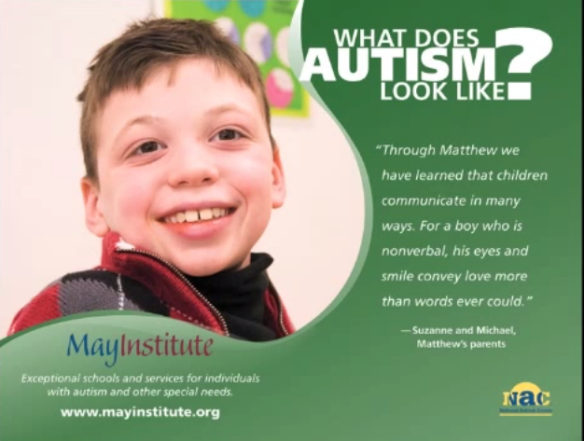 What is Autism    What Does Autism Look Like    May Institute   YouTube #6
